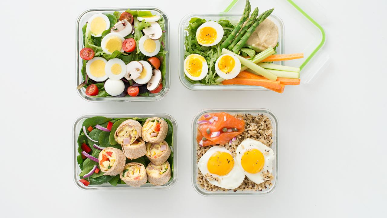 easy lunch ideas to