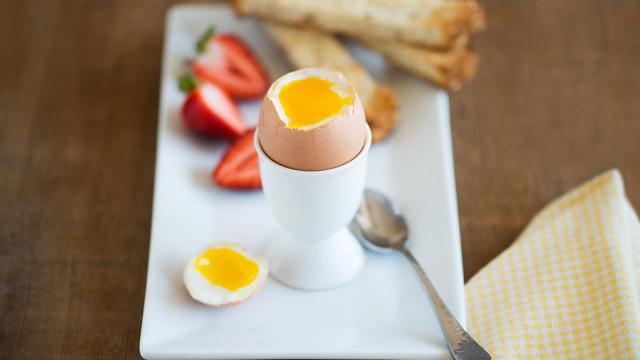 Basic Soft Boiled Eggs