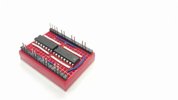 Arduino Connecting Pins Of L293d To Pins Of Inverter 7404