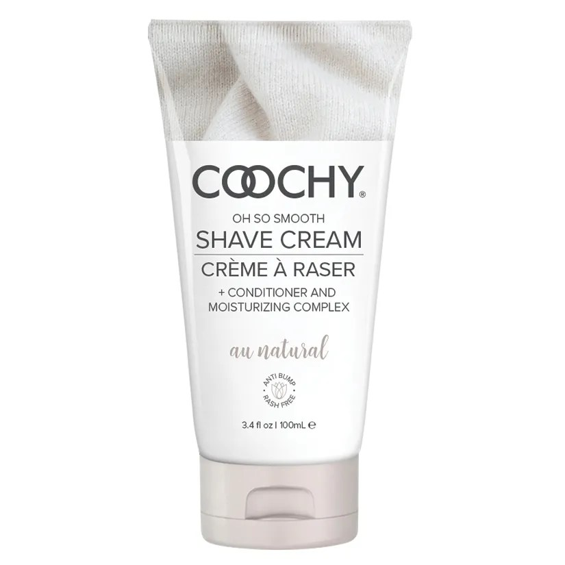Coochy Shave Cream Au Natural