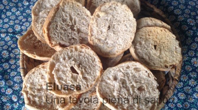 Freselle  o friselle con esubero di pasta madre