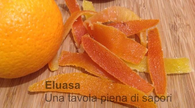 Scorzette d'arance e agrumi candite.