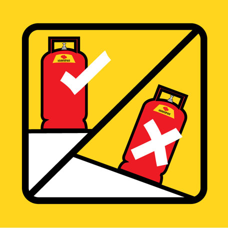 Do you keep a gas cylinder at home? These tips will keep you safe