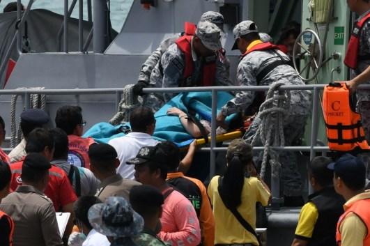 Image result for 21 dead, many more bodies seen inside sunken Thai tourist boat