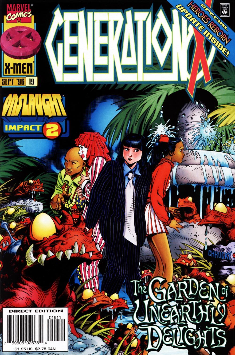Generation X 1994 19  Emma Frost Files