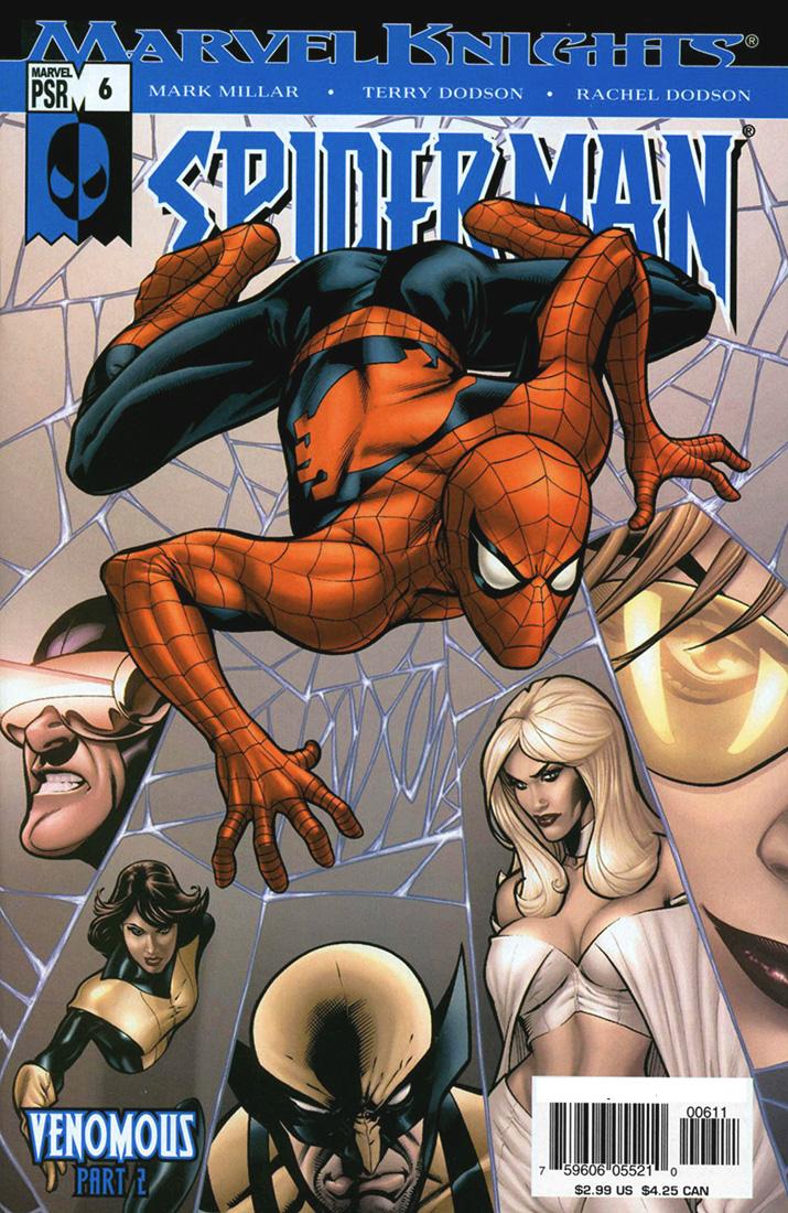 Marvel Knights SpiderMan 2004 6  Emma Frost Files