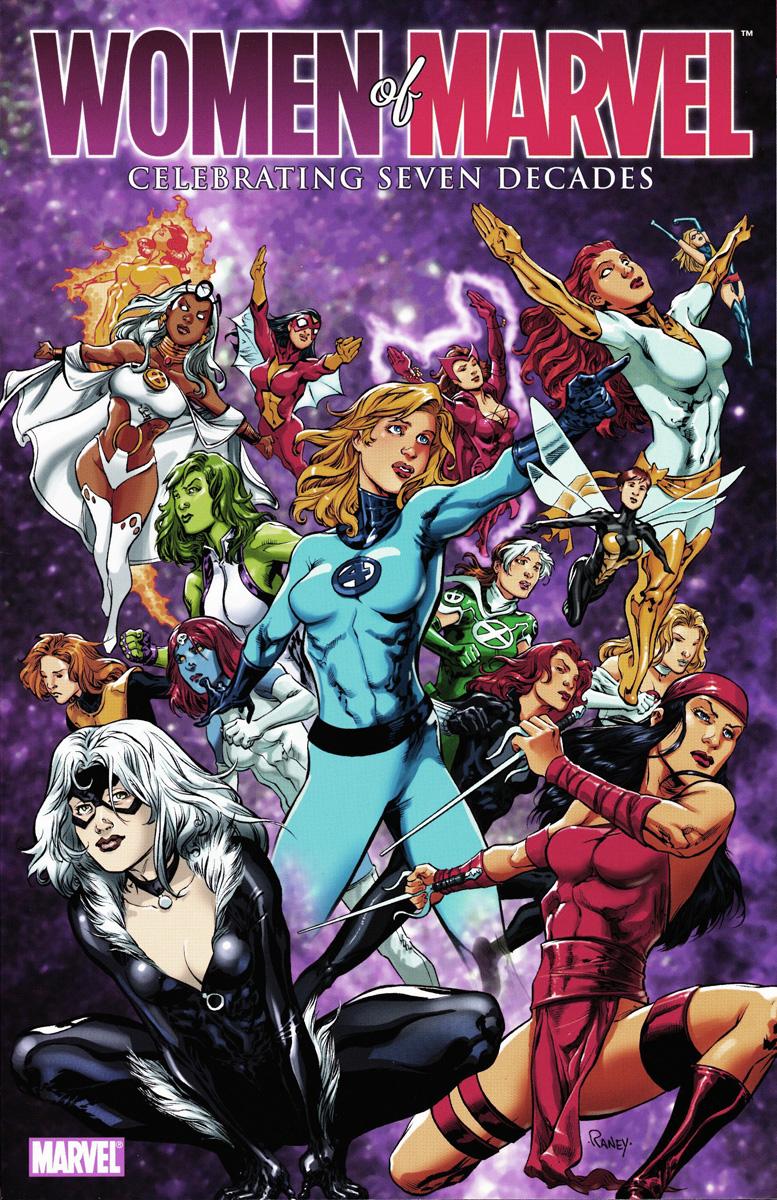 Women Of Marvel Celebrating Seven Decades Poster Book