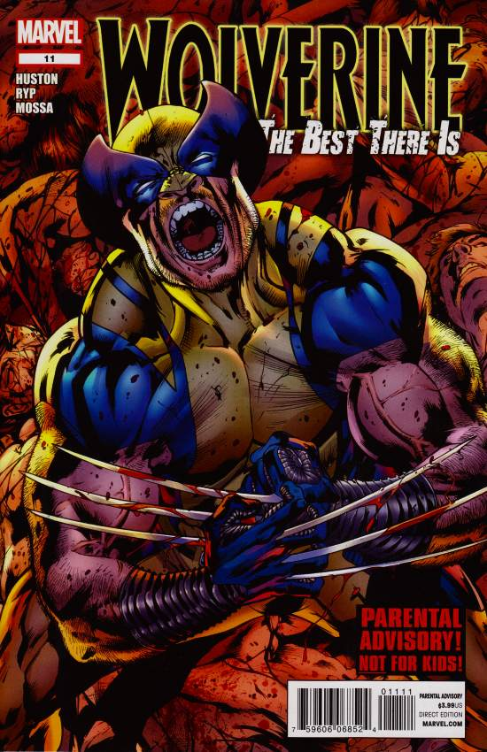 Wolverine The Best There Is 2011 11  Emma Frost Files