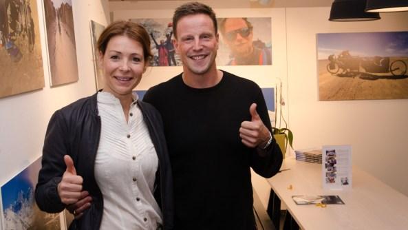 Renata Chlumska och Fredrik Hjorth - Kropp Challenge
