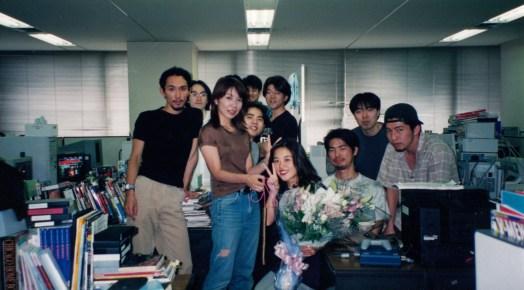 Deo zaposlenih u Team Silent 2001. godine