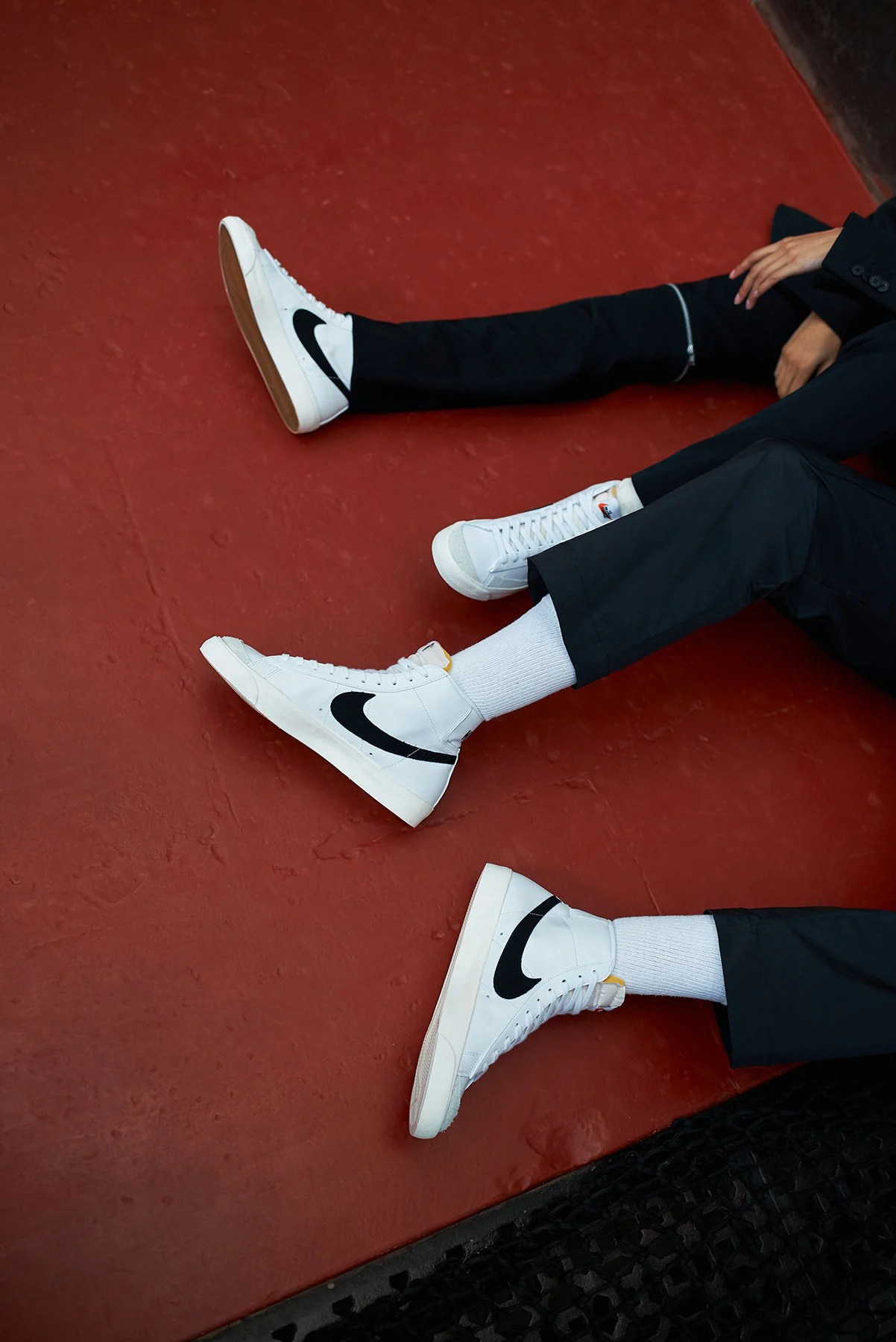 How To Wear Nike Blazers : blazers, Features, Perfect, Retro:, Court-Side, Blazer, Vintage