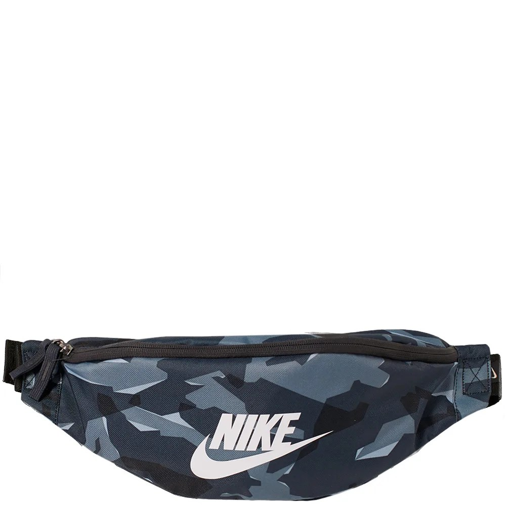 Nike Heritage Hip Pack Anthracite. Black & White   END.