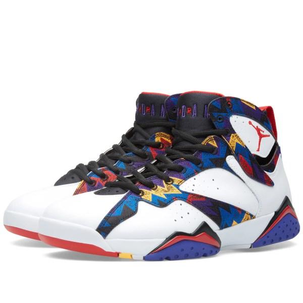 Nike Air Jordan VII Retro 39Nothing But Net39 White