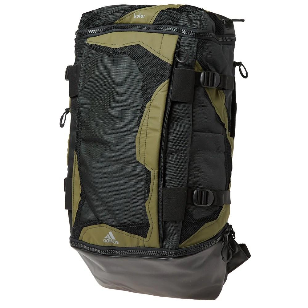 Adidas x Kolor OPS Backpack Carbon & Black | END.