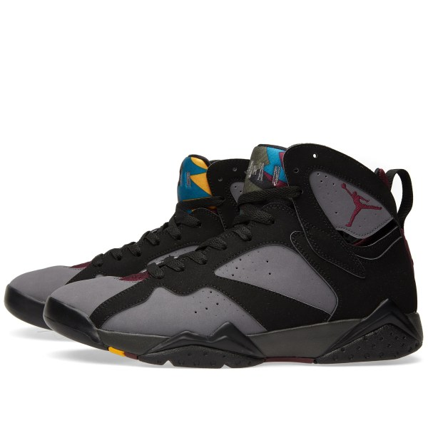 Nike Air Jordan VII Retro Black Bordeaux Graphite