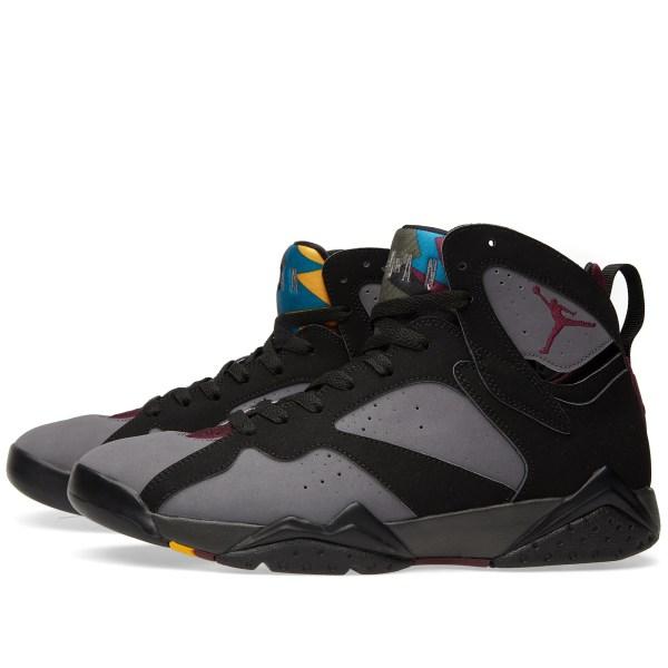 Nike Air Jordan VII Retro Black Bordeaux Graphite