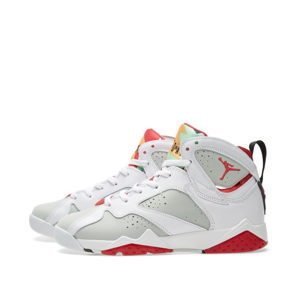 Nike Air Jordan VII Retro BG 39Hare39 White True Red