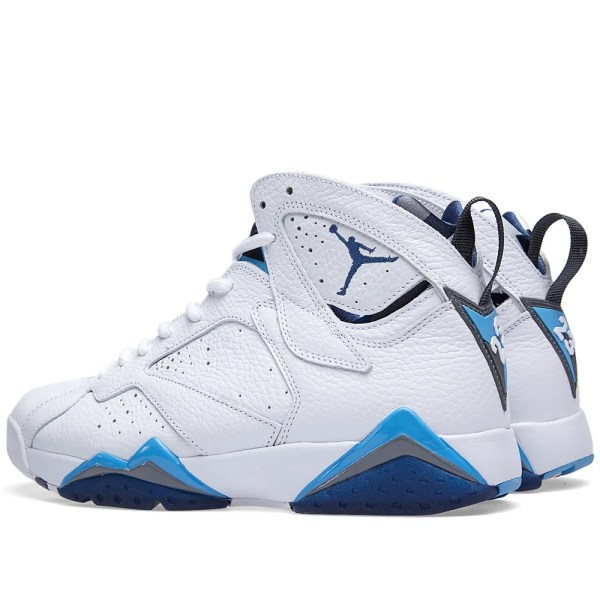 Nike Air Jordan VII Retro 39French Blue39 White French Blue