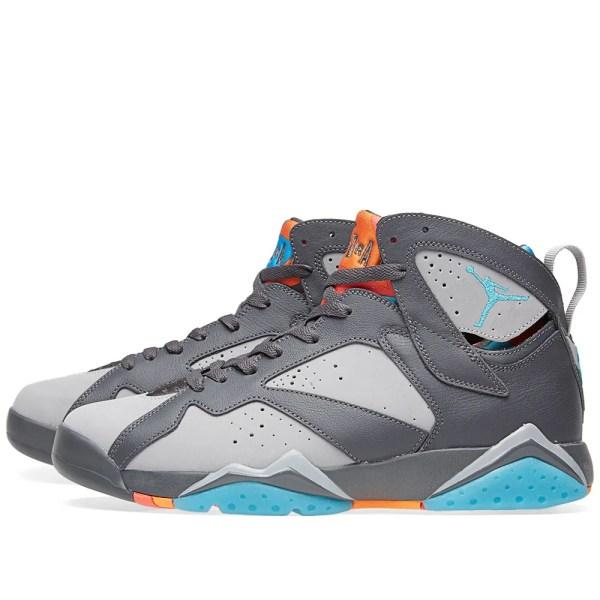 Nike Air Jordan VII Retro Dark Grey Turquoise Blue
