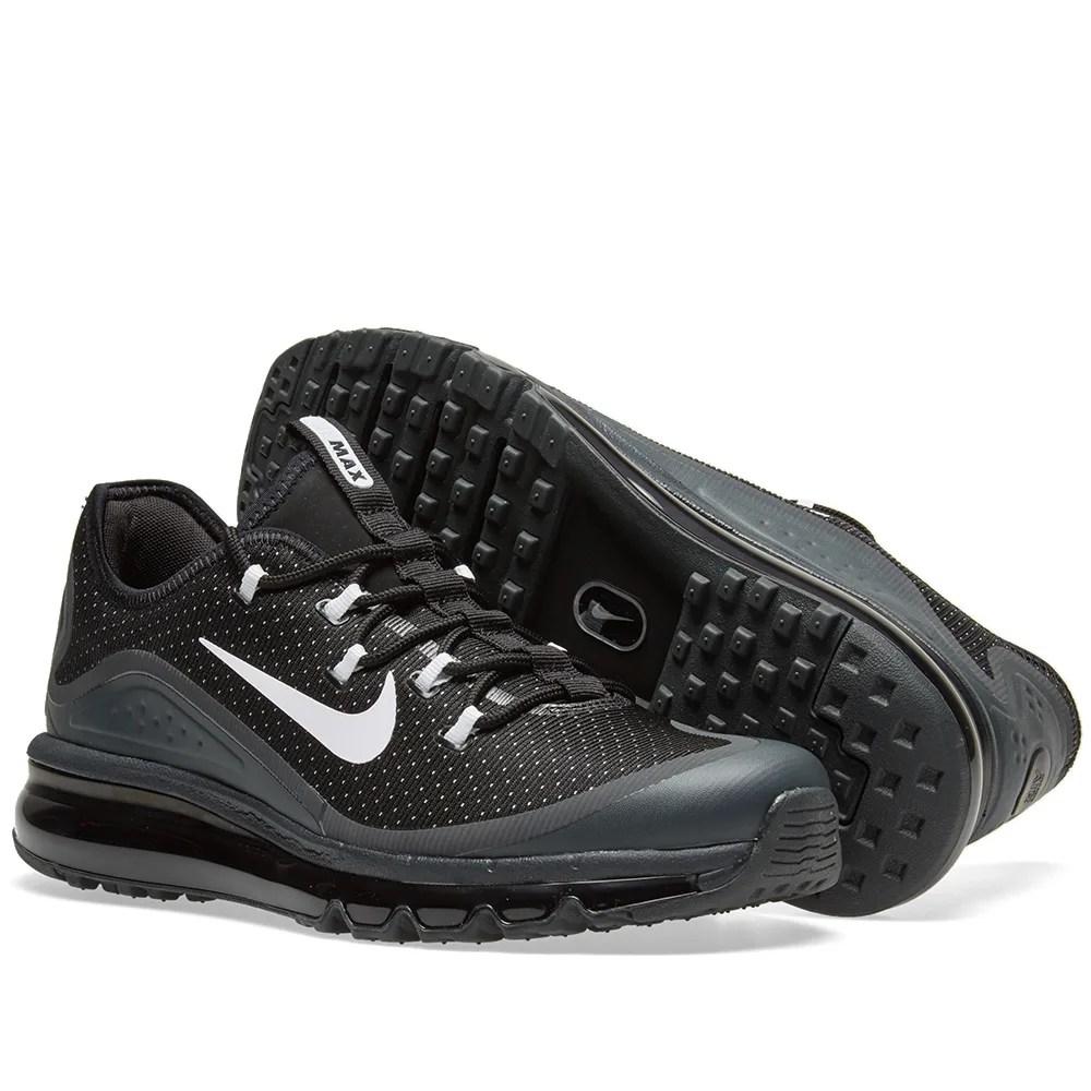 898013 001 Nike Air Max More Blackwhite wolf