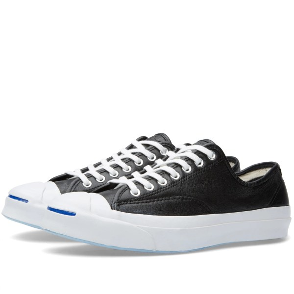 Converse Jack Purcell Signature Leather Black & White