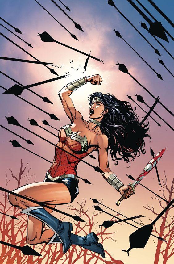 Capa do fascículo #52 de Wonder Woman por Miguel Mendonça