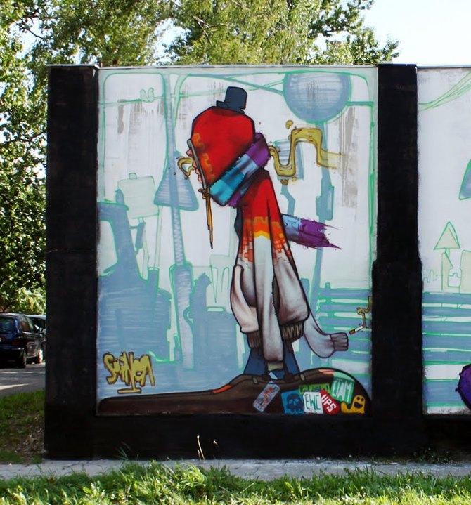 Street Art от Przemek Blejzyk.