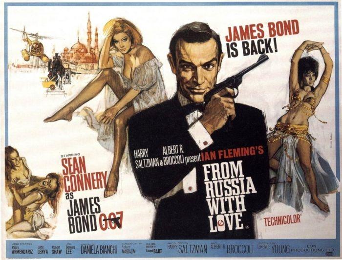 Полное собрание Джеймса Бонда Плакаты