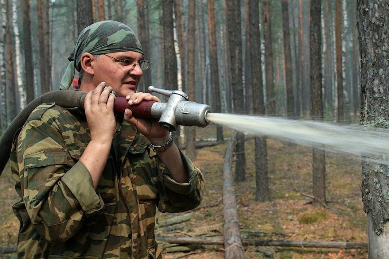 Extinguishing Wildfires 24