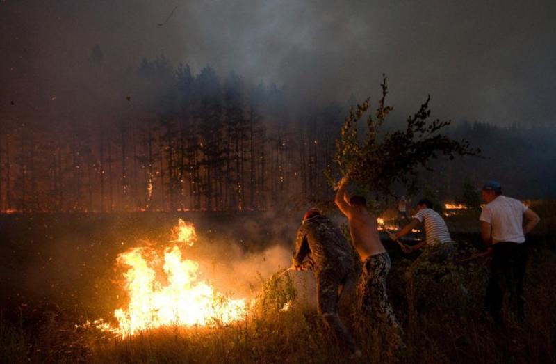 Extinguishing Wildfires 69