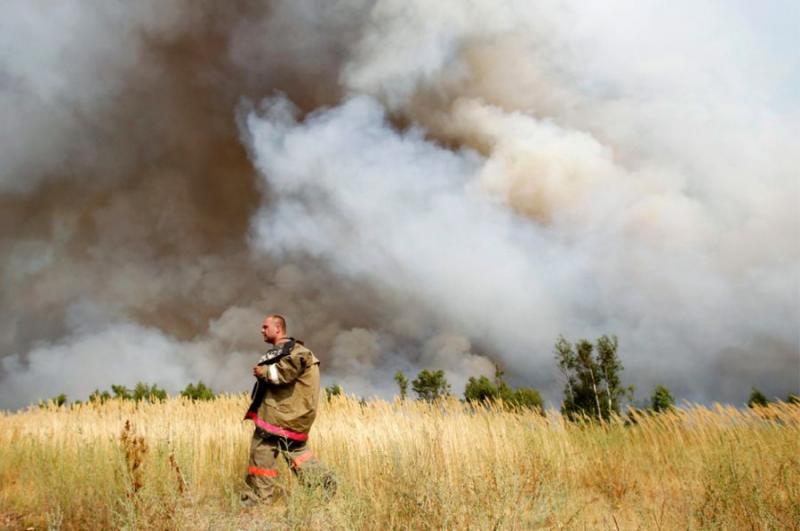 Extinguishing Wildfires 74