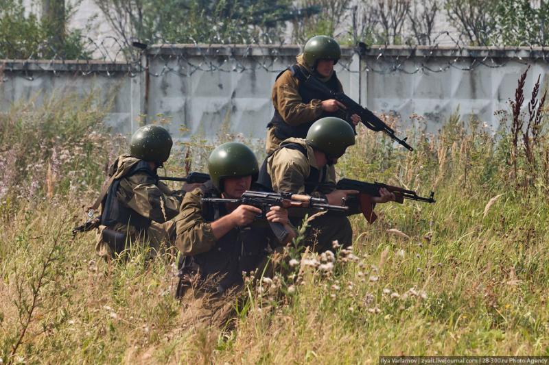 Moscou, 10 SWAT