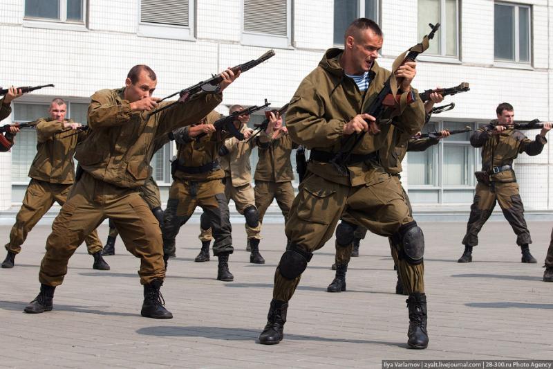 Moscou, 14 SWAT
