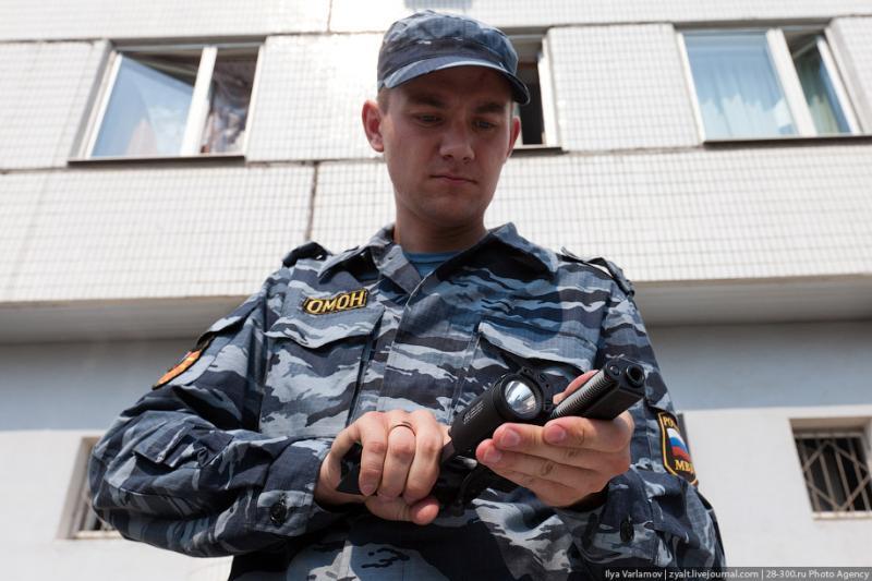 Moscou, 21 SWAT