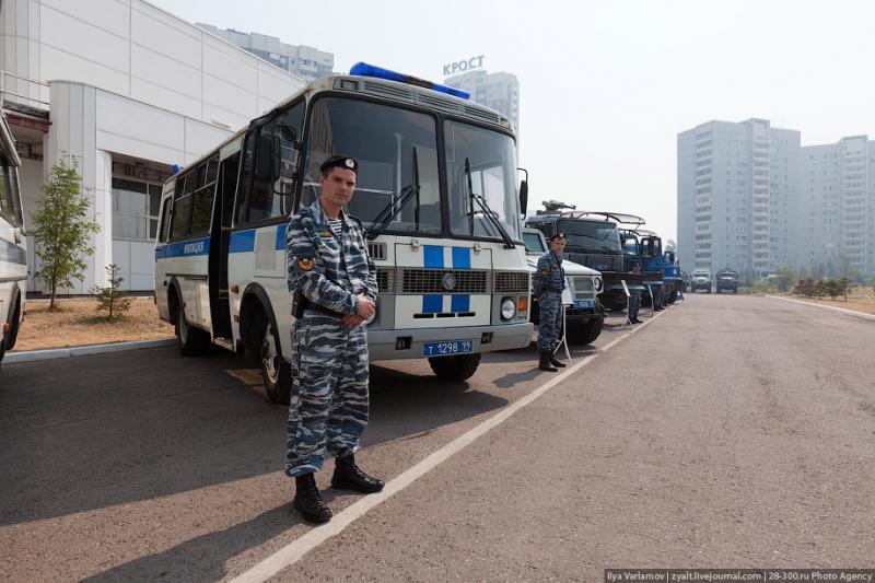 Moscou, 24 SWAT