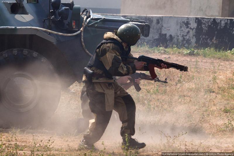 Moscou, 9 SWAT