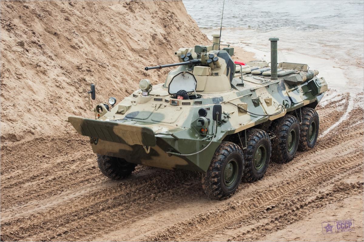 BTR 82 - an Upgraded Soviet Machine - English Russia