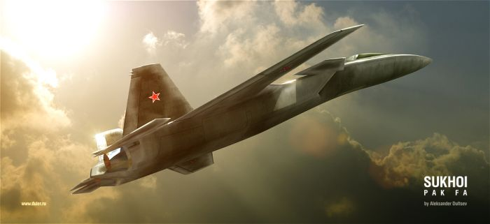 Russian stealth plane 1