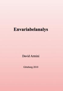 Envariabelanalys