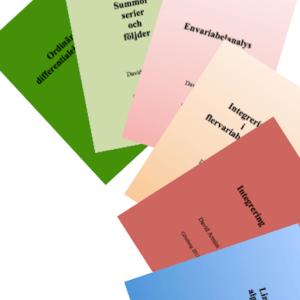 Enklare matematik ordinära differentialekvationer linjär algebra envariabelanalys integrering