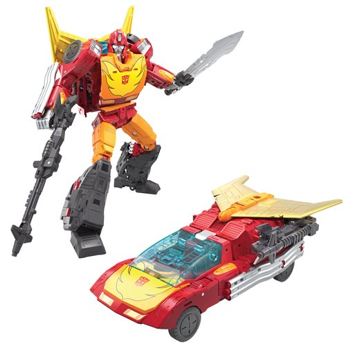 Transformers War for Cybertron Kingdom Rodimus Prime