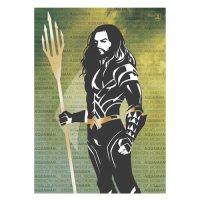 Justice League Aquaman Words MightyPrint Wall Art ...