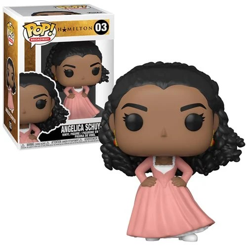 Hamilton Angelica Schuyler Pop! Vinyl Figure