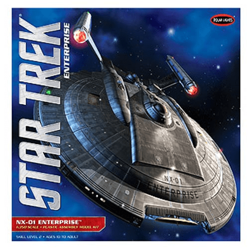 star trek enterprise nx 01 ship 1 350 scale model kit
