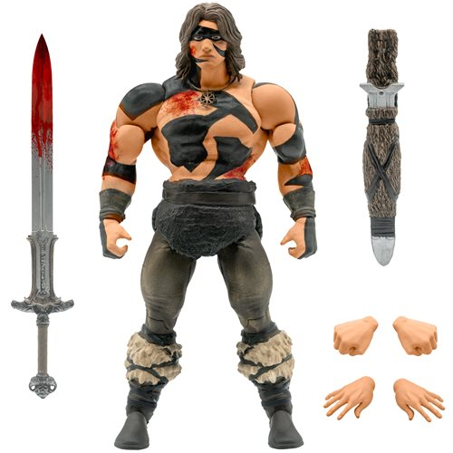 Conan the Barbarian Ultimates War Paint Conan Action Figure