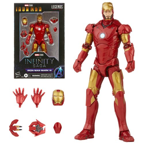 Iron Man Marvel Legends Mark 3 Armor 6-inch Action Figure