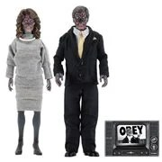 They Live 8-Inch Scale Clothed Action Figure 2-Pack
