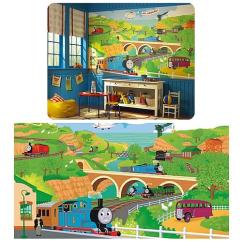 Thomas Train Chair Heated Vibrating Cushions The Rail Prepasted Mural Entertainment Earth