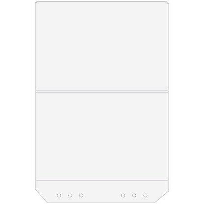 Vikbar A4-plastficka till Tävlings- & Utställningsmapp