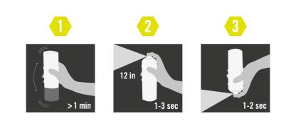 Hur man använder Albedo reflexspray